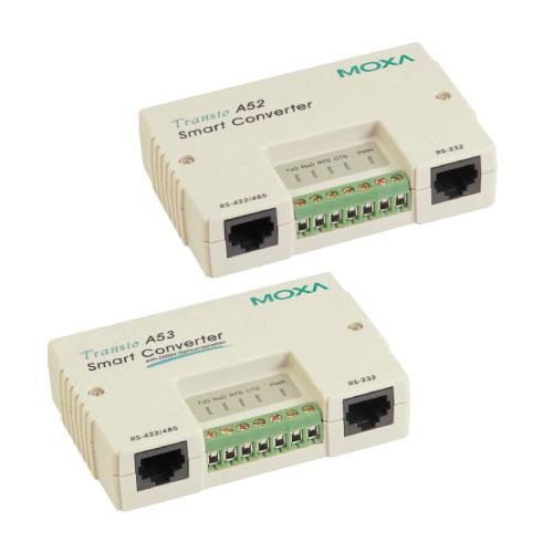 Convertisseur série RS-232 à RS-422/485 -Transio-A52/A53 Moxa