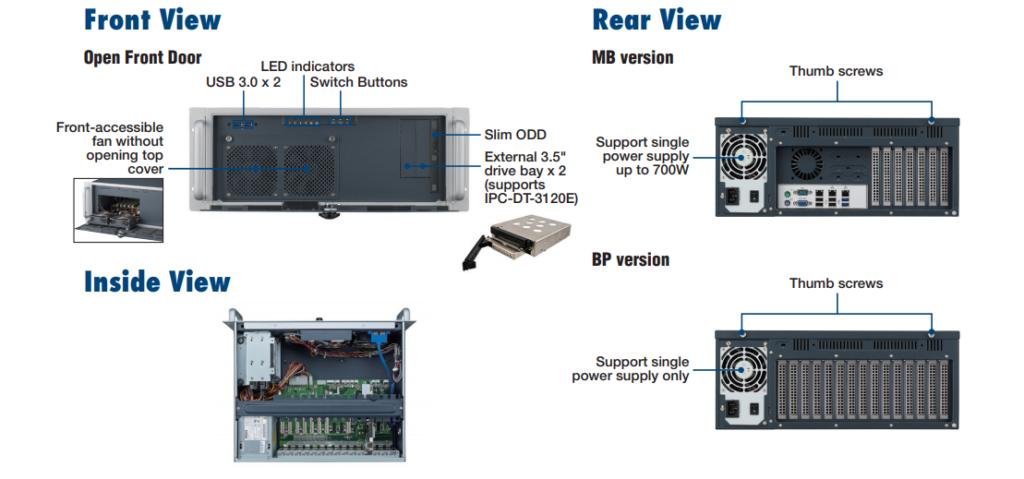 Apparence-Châssis-PC-industriel-ACP-4020-Advantech