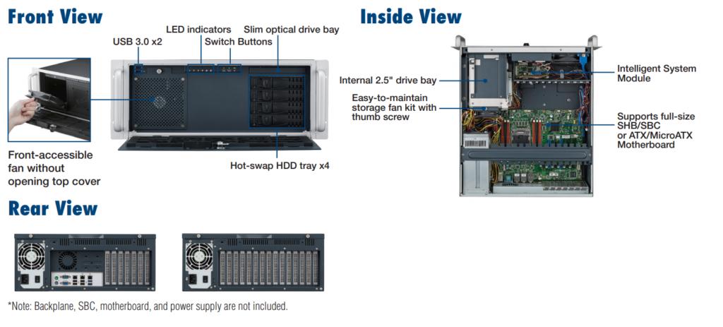 Apparence-Châssis-PC-industriel-ACP-4340-Advantech