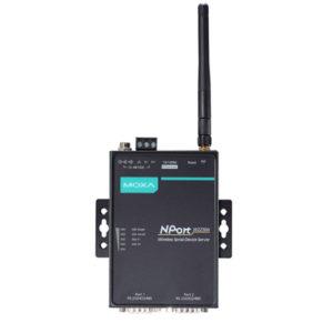Serveur de périphériques série RS-232/422/485 sans fil NPort W2250A