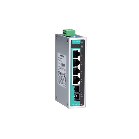 Switch Ethernet non administrable EDS-205A-M-SC