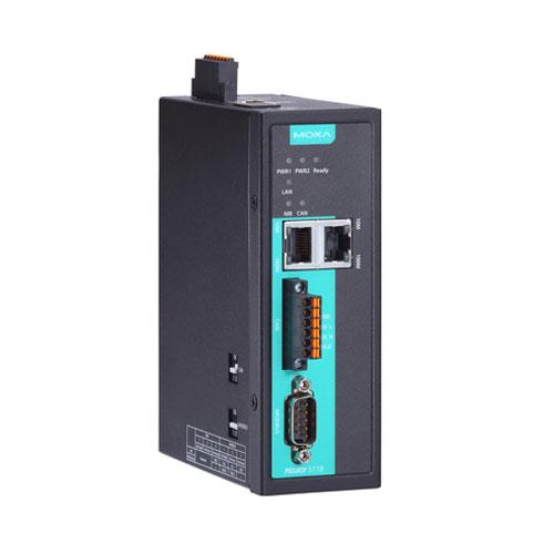 Passerelle CAN Bus J1939 vers Modbus / PROFINET et EtherNet/IP MGate 5118