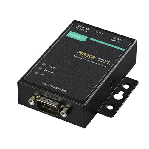 Passerelle Modbus série MGate MB3180 Moxa