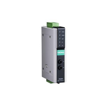 Passerelles Modbus série à Ethernet MGate MB3170-M-ST