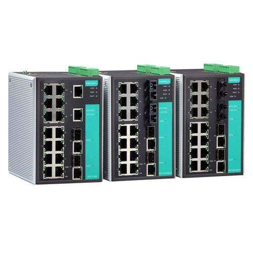 Switch Ethernet administrable EDS-518A Moxa