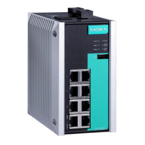 Switch Ethernet administrable Full Gigabit EDS-G508E Moxa