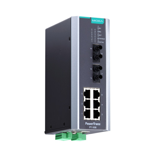 Switch-Ethernet-administrable-PT-508-Moxa