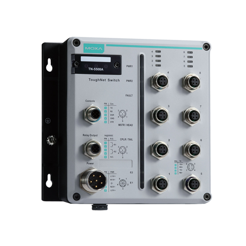 Switch Ethernet administrable TN-5500A-Moxa