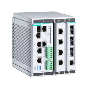 Switch Ethernet administrable modulaire EDS-611 Moxa