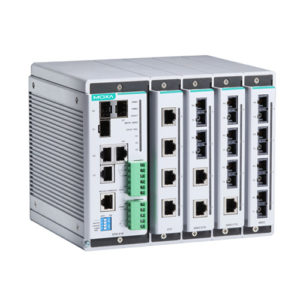 Switch Ethernet administrable modulaire EDS-619 Moxa