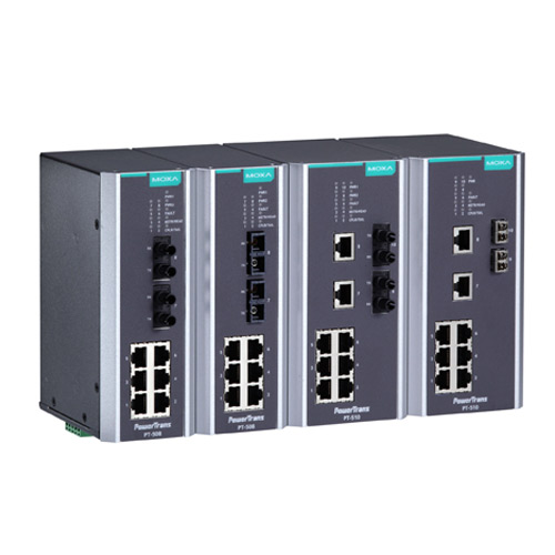 Switch Ethernet administrable PT-510 Moxa