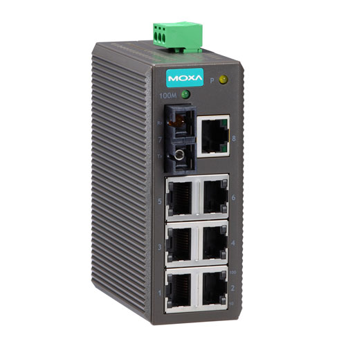 Switch Ethernet non administrable EDS-208-M-SC