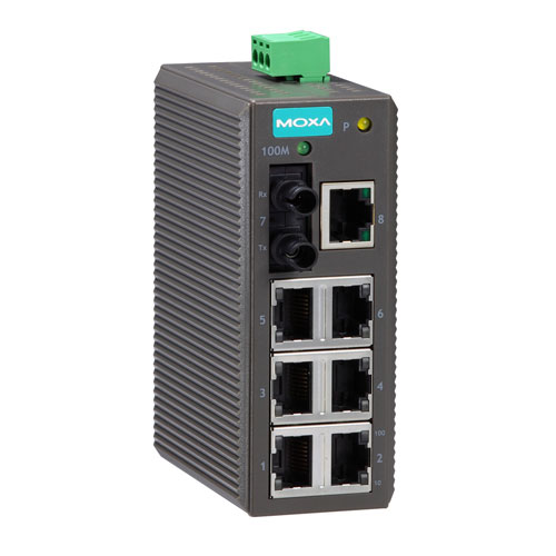 Switch Ethernet non administrable EDS-208A Moxa 3