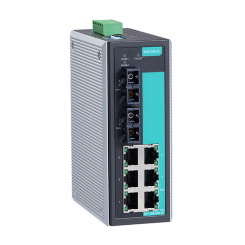 Switch Ethernet non administrable EDS-308 Moxa