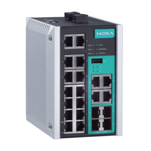 Switch Gigabit Ethernet administrable EDS-518E Moxa