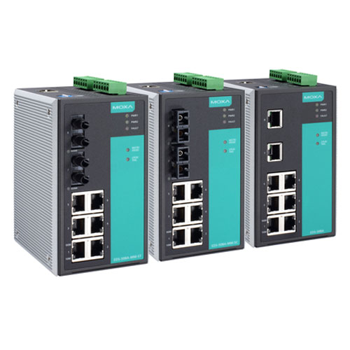 Switches Ethernet administrables EDS-508A Moxa