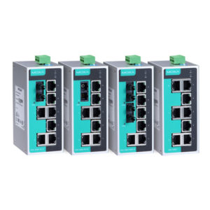 Switches Ethernet non administrables EDS-208A Moxa