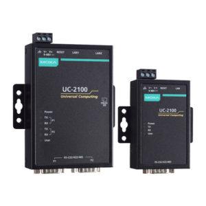 PC industriels à architecture ARM UC 2100 Moxa