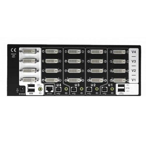 Switch KVM ADDERView 4 PRO DVI