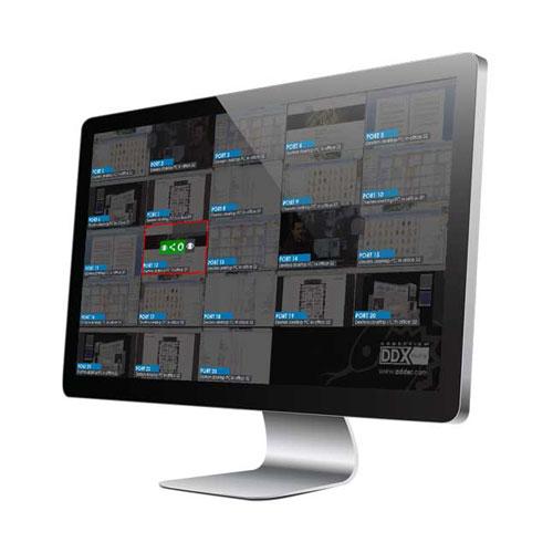 Switch KVM ADDERView DDX30 : affichage des vignettes à vues multiples