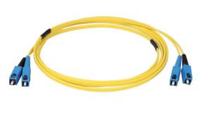 Jarretières optiques SC push-pull duplex