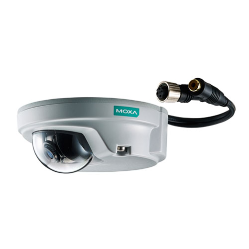 Caméra IP industrielle HD VPort P06-1MP-M12 Moxa
