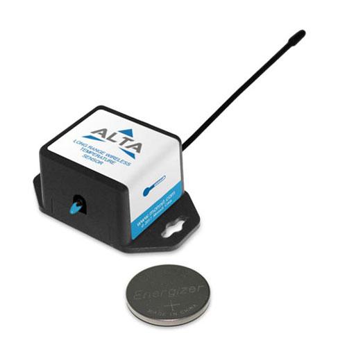 Capteur de température sans fil industriel ALTA alimenté par pile bouton