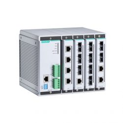 Switches Ethernet administrables Série EDS-616 moxa